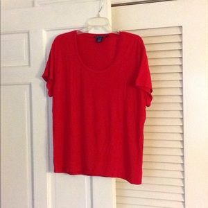 Ralph Lauren Sport red t shirt